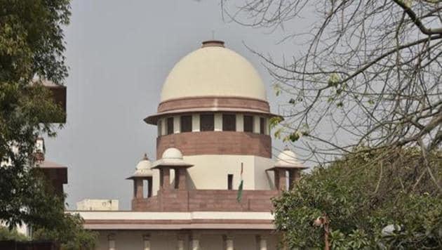 A view of the Supreme Court in New Delhi.(HT File Photo)