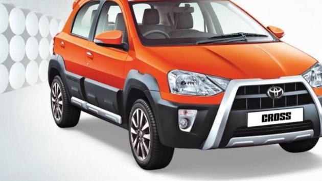 Toyota's Etios Cross.