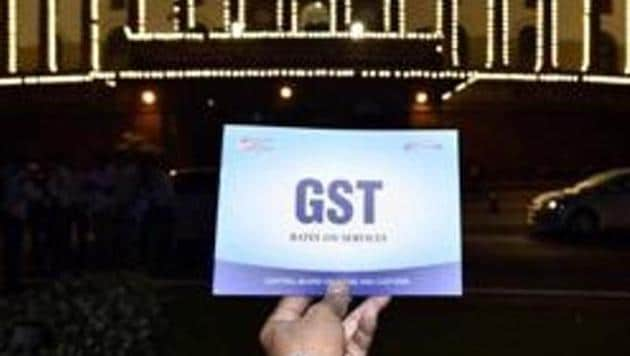 Special session for the GST launch at Parliament House in New Delhi on June 30, 2017.(Arun Sharma/HT File Photo)