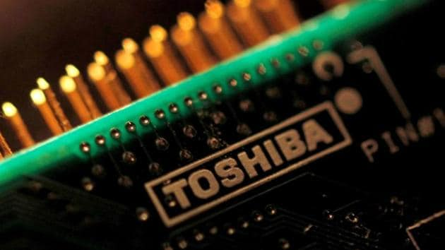 Toshiba agreed last year to sell the chip unit to a consortium led by US private equity firm Bain Capital to cover liabilities arising from its bankrupt US nuclear unit Westinghouse.(Reuters Fle Photo)