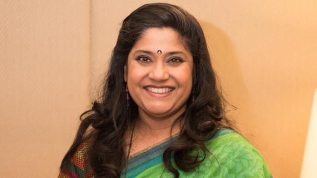 Renuka Shahane played the character of Flory Mendonca in 3 Storeys.(Sarang Gupta/HT Photo)