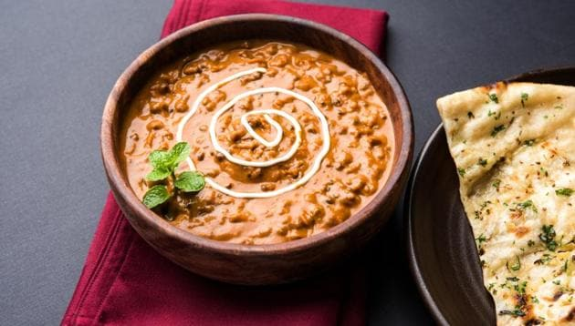 Dal Makhani and naan is a north Indian speciality.(Shutterstock)
