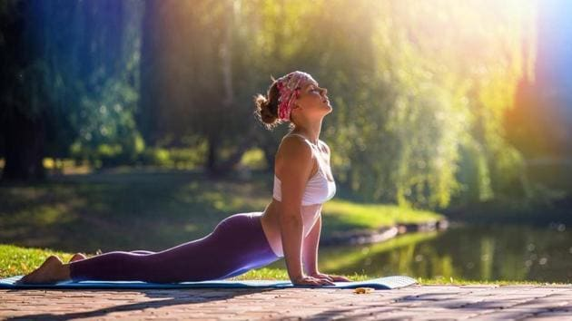 Yoga is great for increasing muscle flexibility, toning and mindfulness.(Shutterstock)