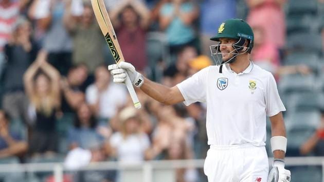 Aiden Markram was hailed by Virat Kohli for his 152 in the Johannesburg Test as he continued his great form against Australia.(AFP)