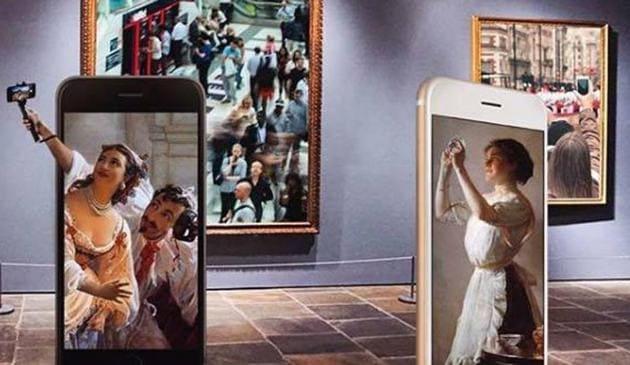 At the Museum of Selfies, selfies are compulsory.(Facebook/Museum of Selfies)