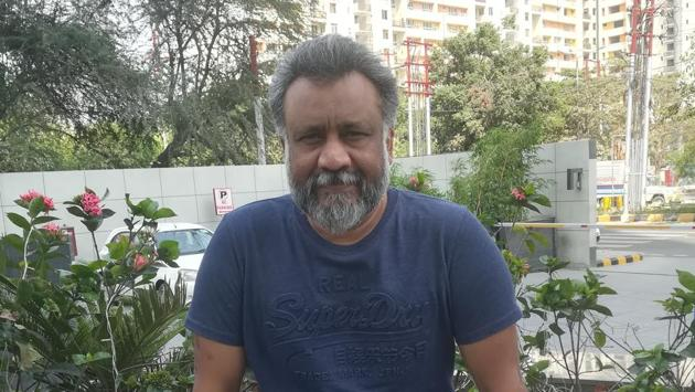 Director Anubhav Sinha will be shooting his second film in UP and has three more films in the pipeline.(Deep Saxena/HT)