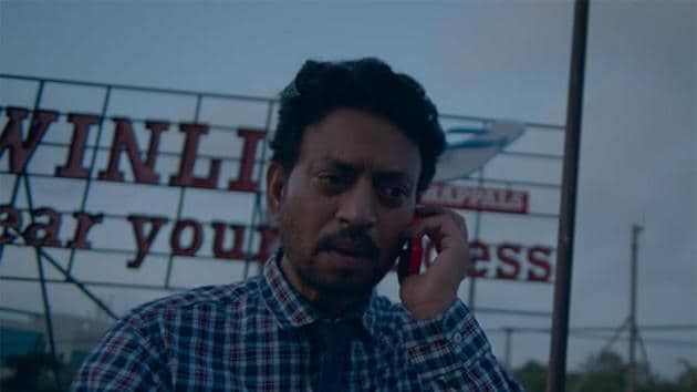 Irrfan in a still from Blackmail.(YouTube)