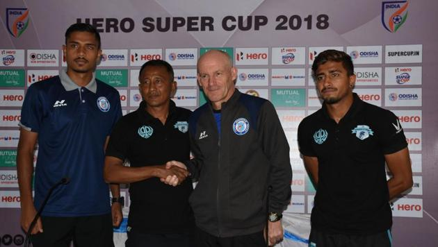 Minerva Punjab FC will take on Jamshedpur FC in the Super Cup Round of 16 on Monday.(AIFF)