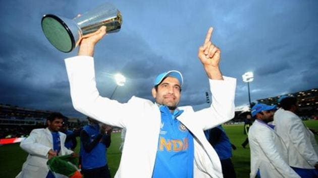 Irfan Pathan was removed as Baroda's captain after two matches of the 2017-18 domestic season.(ICC via Getty Images)