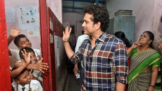 Sachin Tendulkar has been criticised for his poor attendance in the Rajya Sabha during his six-year term.(PTI)