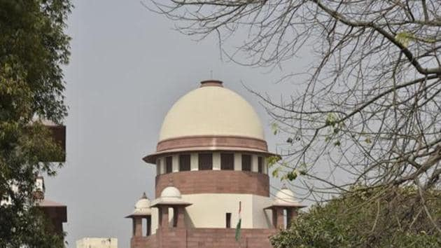 The Supreme Court is hearing a matter relating to inhuman conditions prevailing in 1,382 prisons across the country.(HT File Photo)