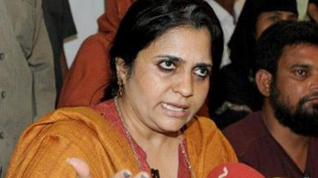 According to the complainant, Teesta Setalvad's NGO, which was given the grant for educational purposes, also distributed printed materials that could cause communal disharmony.(AFP File Photo)