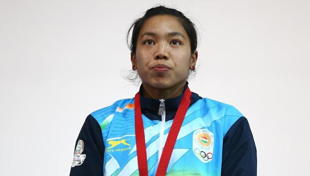 Saikhom Mirabai Chanu clinched the silver medal in the Women's 48kg Weightlifting during the 2014 Commonwealth Games in Glasgow.(Getty Images)