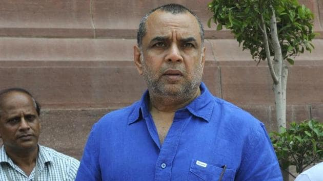 Paresh Rawal has been offered the role of former CM of Andhra Pradesh, Nadendla Bhaskara Rao.(HT Photo)