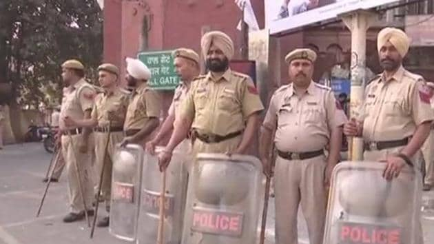 Following the bandh call, security has been upped across Punjab.(ANI)