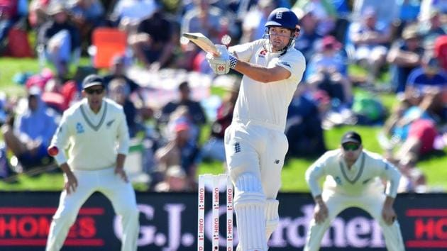 England's Alastair Cook has failed to get going in the ongoing Test series against New Zealand.(AFP)