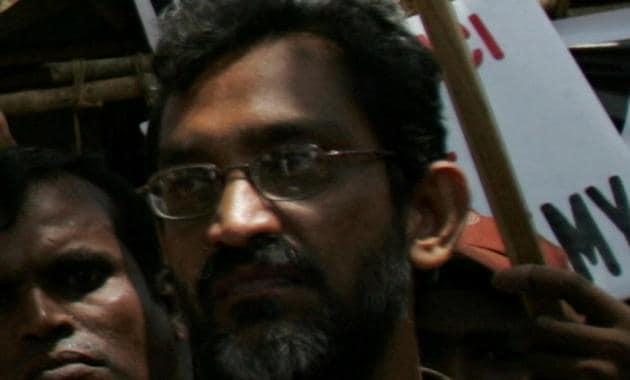 Joseph Dias, founder of Catholic Secular Forum (a community NGO).(HT file)
