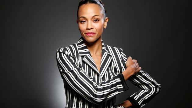 Actor Zoe Saldana has starred in a number of sci-fi /superhero action movies, the next one being Avengers: Infinity War.(Photo: Danny Moloshok/Reuters)