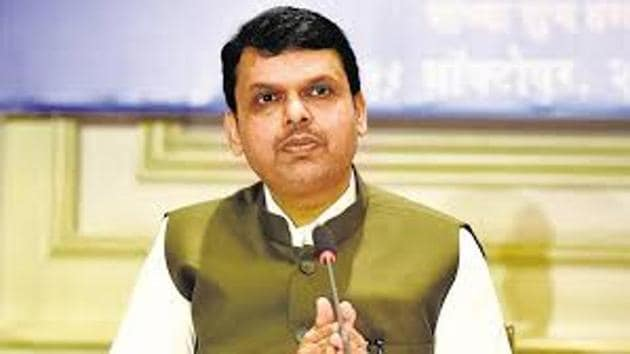 Chief minister Devendra Fadnavis will inaugurate more than 20 projects in Thane on Saturday.(HT File)