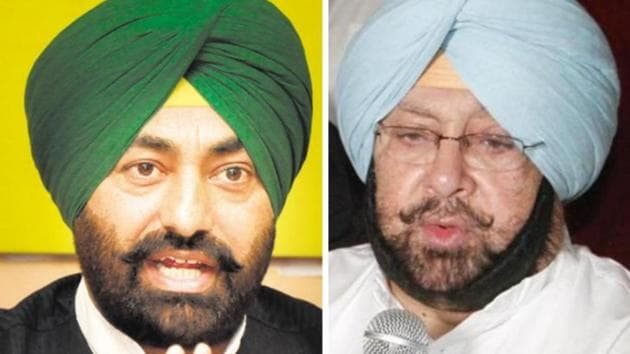 Khaira said he and Simarjeet Singh Bains MLA of the Lok Insaaf Party are facing breach of privilege notices, although they never shared live proceedings of the house on Facebook.(HT Photo)