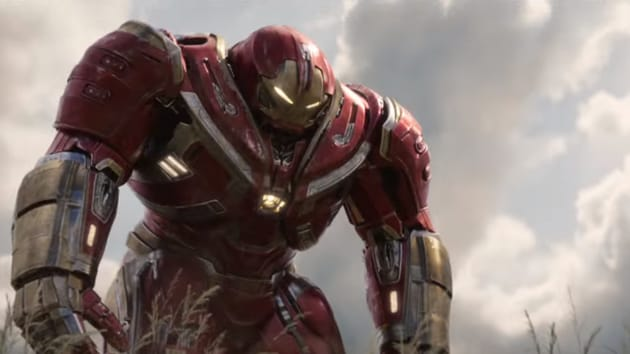 Iron Man dons a special new suit for Avengers: Infinity War.
