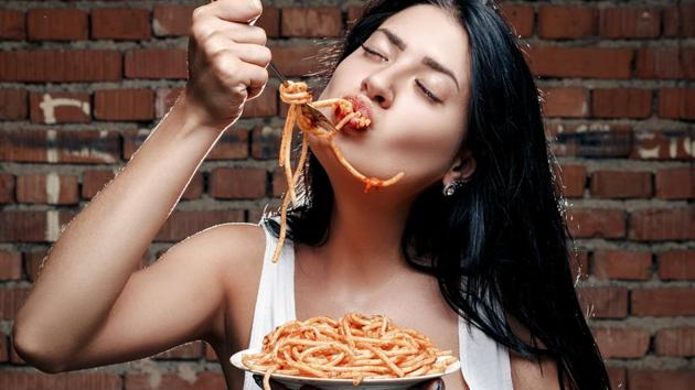 Pasta has a low glycemic index, which means it causes smaller increases in blood sugar levels than those caused by eating foods with a high glycemic index.(Shutterstock)