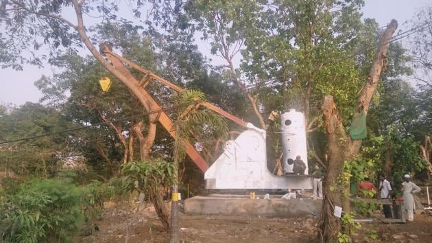 Items that date back to British era Great Indian Peninsula Railway (GPIR) will be kept on display(Kailash Korde/HT)