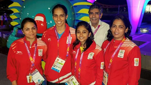 Saina Nehwal's father, Harvir Singh, has now been accommodated at the Commonwealth Games Village in Gold Coast.(PTI)