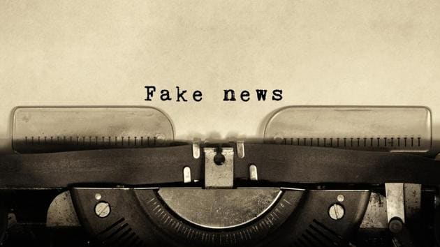 The Press Council of India said fake news means news, story, information, data and reports which are wholly or partly false.(Getty Images/iStockphoto)