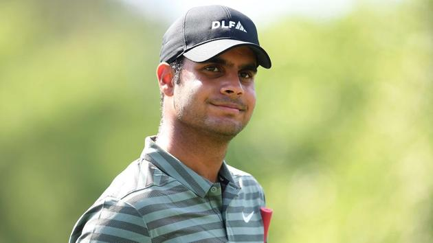 Shubhankar Sharma will compete in the Augusta Masters, to be held from Thursday.(AFP)