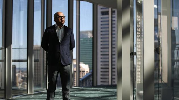 Sanjeev Gupta's GFG has led an acquisitions spree since 2013 that's included deals in Europe, the US and Australia for businesses including steel mills, aluminum smelters, energy producers and automobile components manufacturers.(Brendon Thorne/Bloomberg)