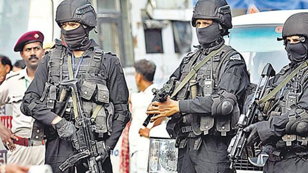 The National Security Guards proposal comes in the wake of security forces losing troopers in high-risk house intervention operations, used to neutralise holed up terrorists or fidayeens (suicide attackers) in densely populated localities of the valley.(File photo)