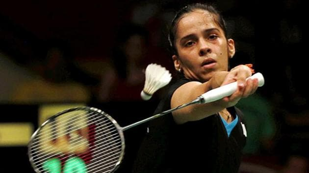 Saina Nehwal had threatened to pull out from the Commonwealth Games 2018 if her father Harvir SIngh was not accommodated as a team official.(Reuters)
