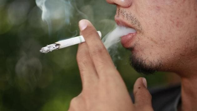 The finding suggested that any amount of cigarette consumption could be associated with poorer diet quality.(Shutterstock)