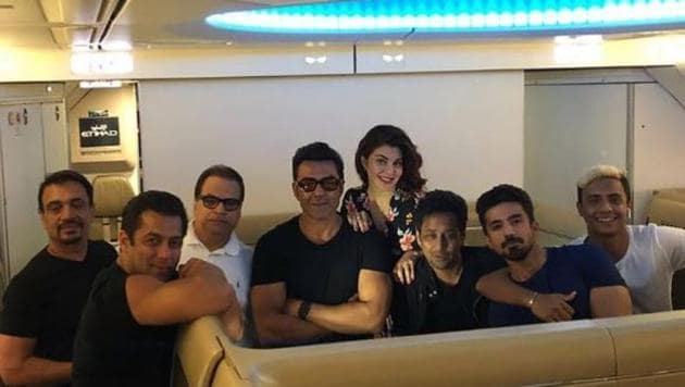 Race 3 is being directed by Remo D'souza.(Saqibsaleem/Twitter)