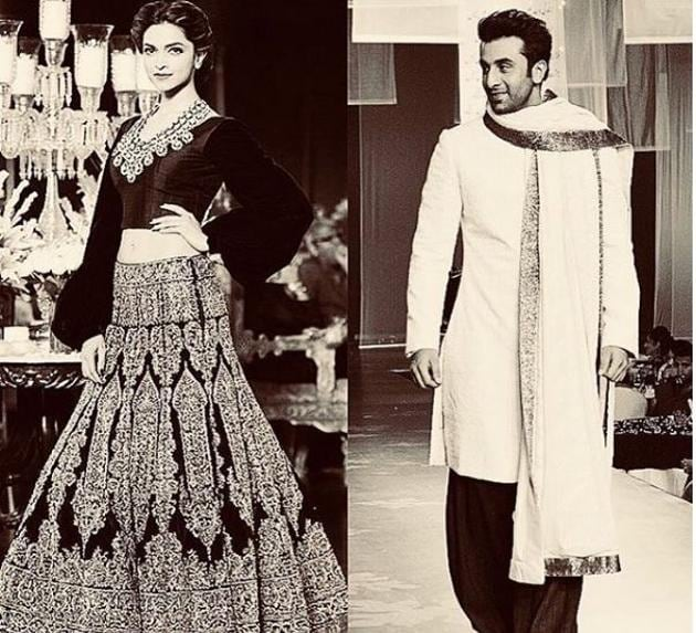 Mijwan fashion show will have Deepika Padukone and Ranbir Kapoor as Manish Malhotra's 'muses'.(Manishmalhotra05/Instagram)