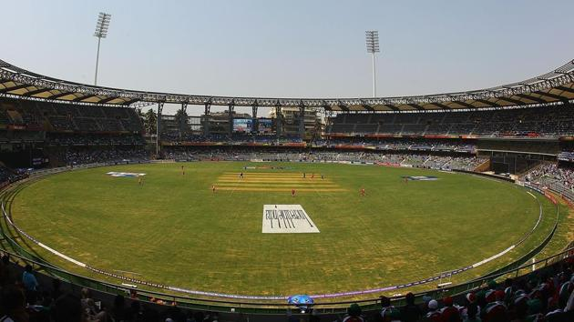 The court was hearing a PIL that raised concerns about large-scale wastage of water for preparing cricket pitches and outfields for the T-20 tournament in the summer of 2016 when Maharashtra was reeling under acute water shortage.(HT File Photo)