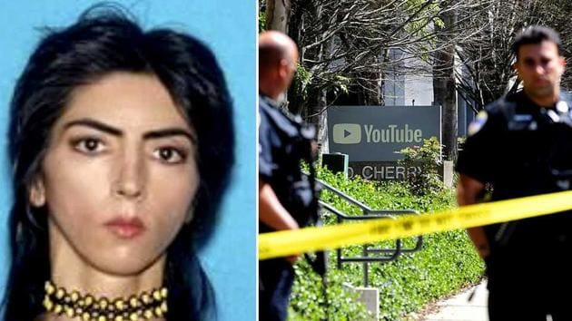 Nasim Aghdam, the woman shooter who opened fire at YouTube headquarters in San Bruno, California on April 3, 2018. Aghdam was found dead from what appeared to be a self-inflicted gunshot after she injured three others.(AP)