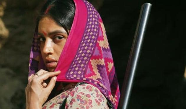 Bhumi Pednekar in the first look from Sushant Singh Rajput's Son Chiriya.