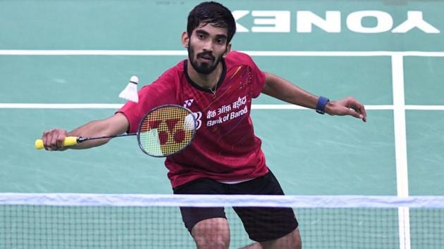 Kidambi Srikanth will lead India's charge at the Badminton Asia Championships in China later this month.(AFP)