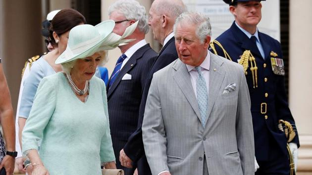 Britain's Prince Charles and Camilla, Duchess of Cornwall, touched down in Brisbane and will attend the Commonwealth Games 2018 Opening Ceremony.(Reuters)