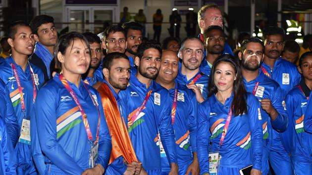 The Gold Coast Commonwealth Games 2018 begins on Wednesday and Prime Minister of India Narendra Modi today extended his best wishes to the Indian contingent.(PTI)