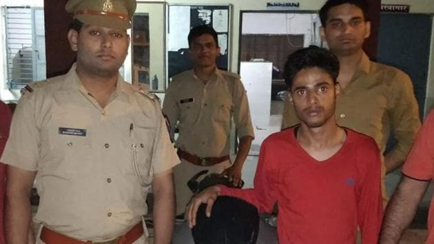 A team of Surajpur police and Noida criminal intelligence wing nabbed Shivam, who was on a motorcycle with an accomplice, identified as Rinku Punjabi.