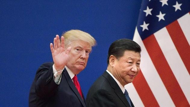 Trump said on March 22 the tariffs were aimed at penalizing Beijing for what the US alleges to be theft of American companies' intellectual property. China imposed tariffs of its own in response to Trump's actions on metal imports.(AFP Photo)
