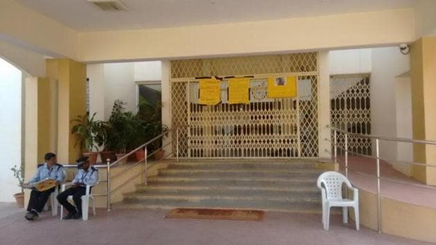 Hyderabad University authorities rusticated a PhD student for six months and imposed a fine on two other students for allegedly misbehaving with a lady assistant professor in November last year.(HT File Photo)