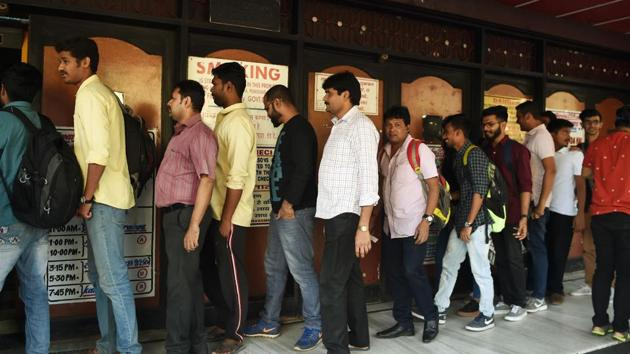 The Bombay high court said if multiplexes were prohibiting people from bringing outside food, then there should be a total prohibition on eatables.(AFP File photo)