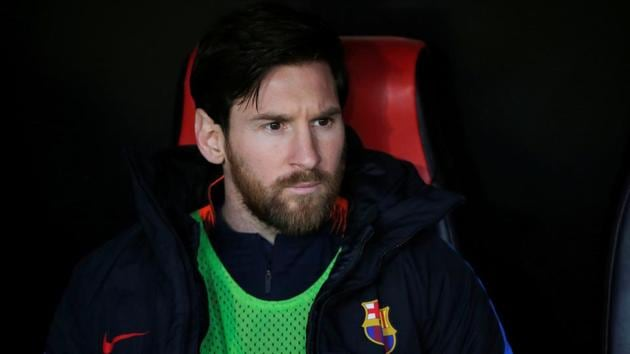 Lionel Messi is set to start for Barcelona against AS Roma in their Champions League clash on Wednesday.(REUTERS)