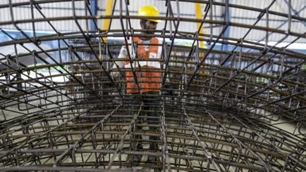 The exports of total finished steel from India have increased by 84% to 10.87 million tonnes in January-December 2017 from 5.90 MT the corresponding period of last year.(Bloomberg File Photo)