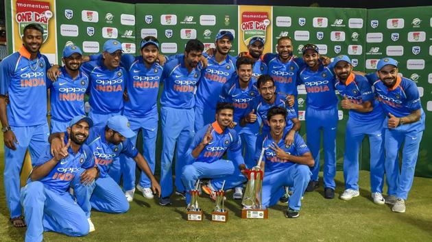 Indian cricket team's media rights are likely to fetch the BCCI a record purse. The e-auction of the global rights (2018-2023) have gone to the third day in Mumbai.(AP)