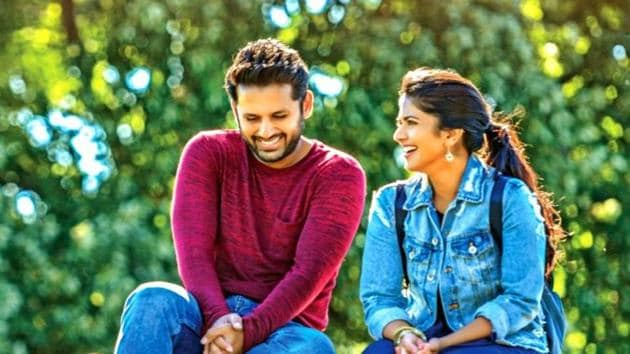 Chal Mohan Ranga review: Nithiin and Megha Akash's film is about over coming differences.